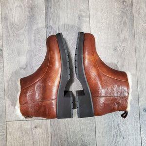 """UGG """"Brooklyn"""" Sheepskin Lined Heeled Boots"""